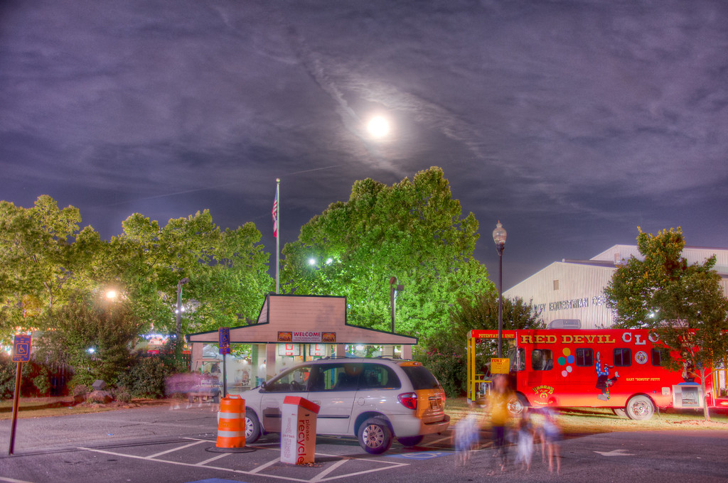 Super Moon and the Fair