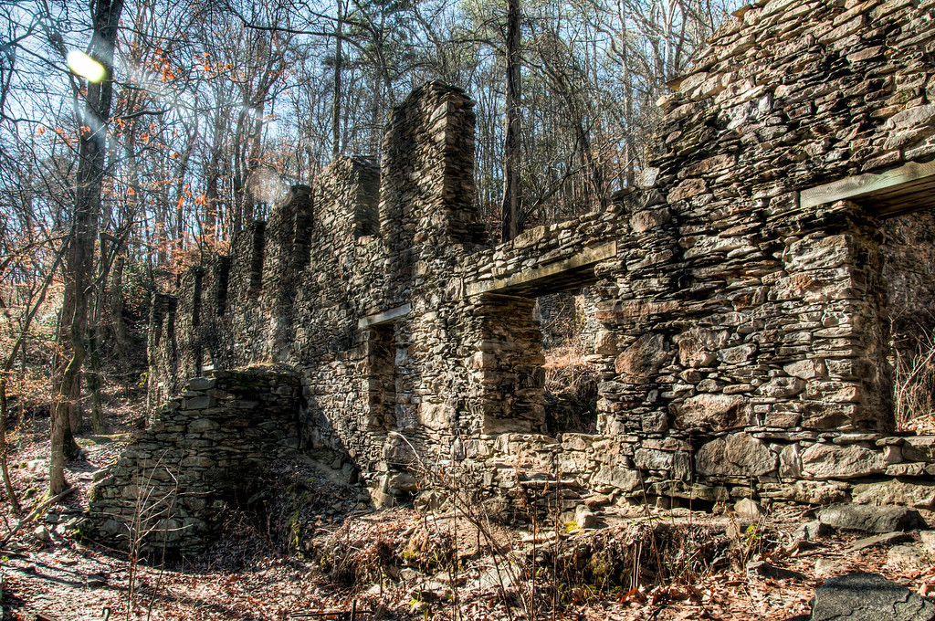 Papermill Ruins