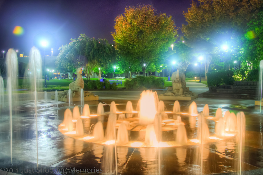 The Fountain in Coolidge Park