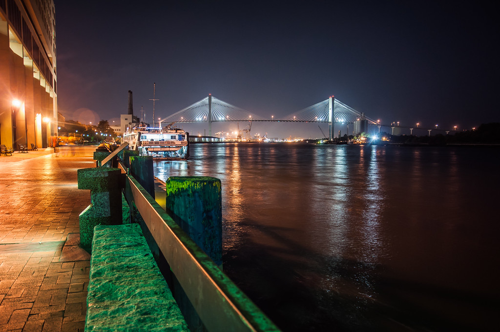 Talmage Bridge over the Savannah River