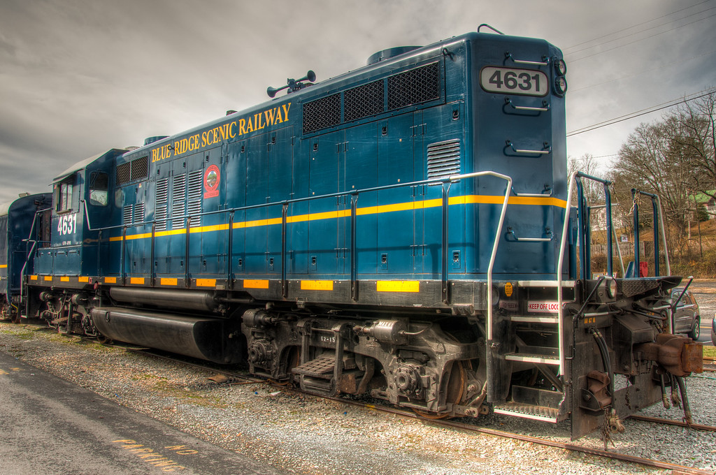 The Blue Ridge Scenic Railroad