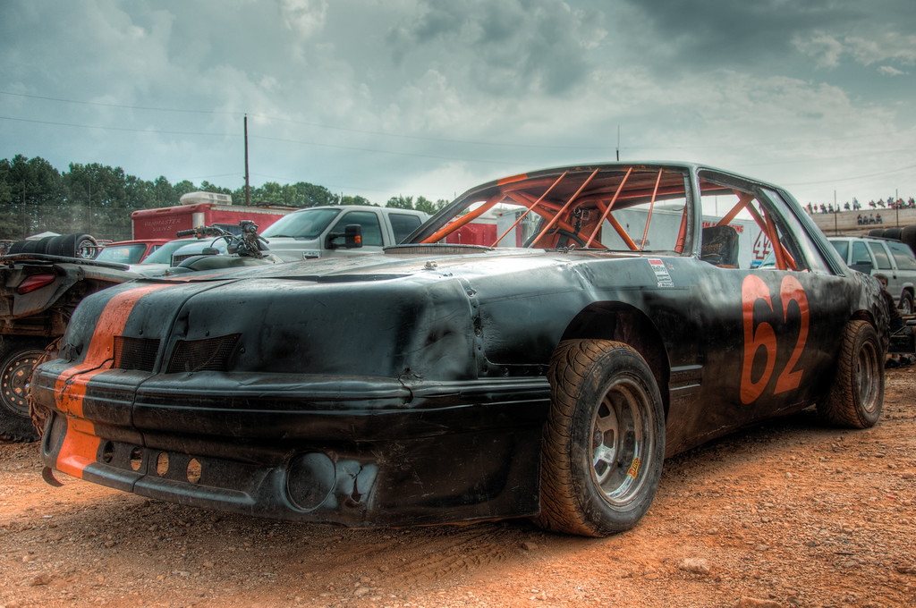 Before the Dirt at Dixie Speedway