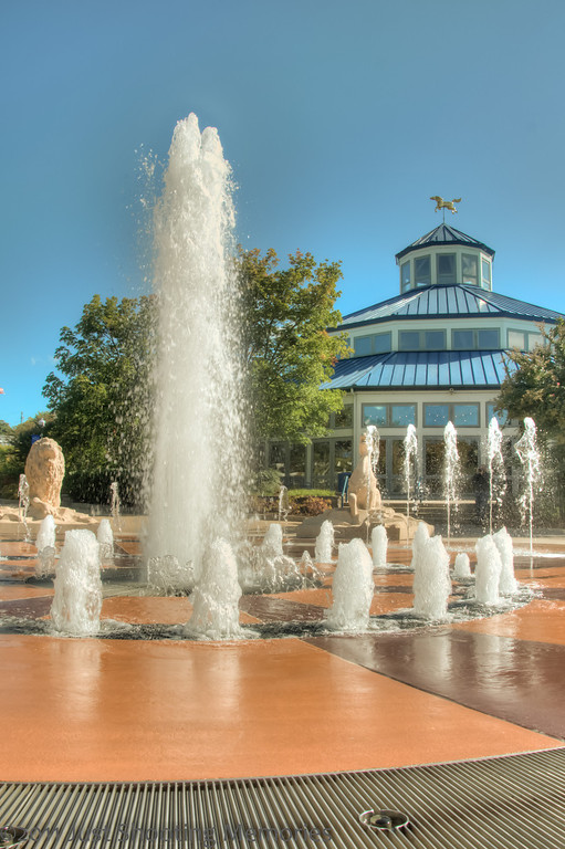 The Fountain at Coolidge Park
