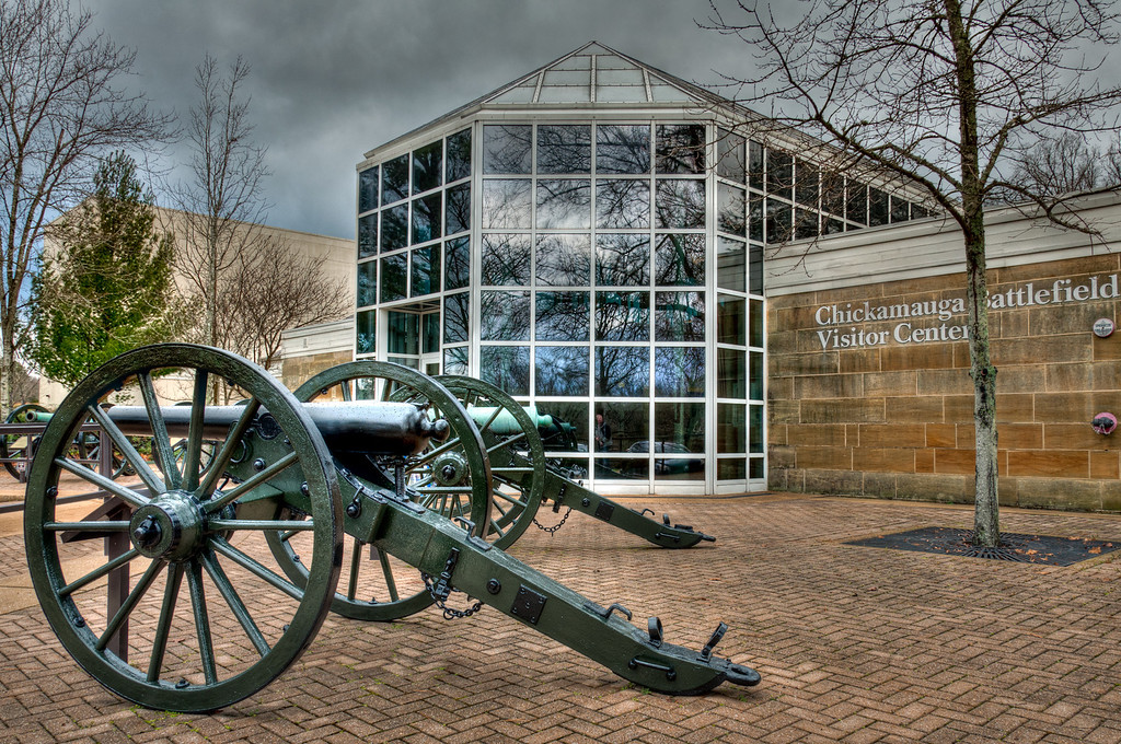 The Visitor Center (Chickamauga Battlefield)